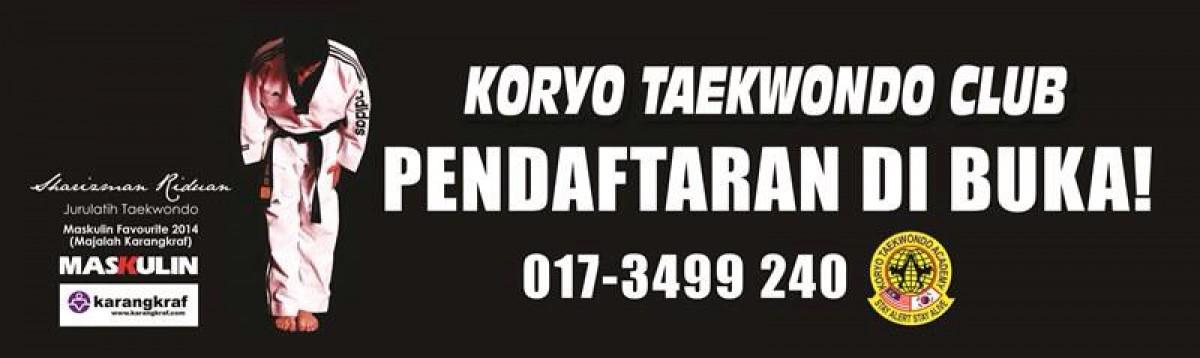 Kelab Taekwondo Koryo - Sharizman Riduan | Jurulatih Taekwondo | Hitam 4/Korea 4th Dan | Pengadil Taekwondo Kebangsaan | Maskulin Favourite 2014 Majalah Karangkraf