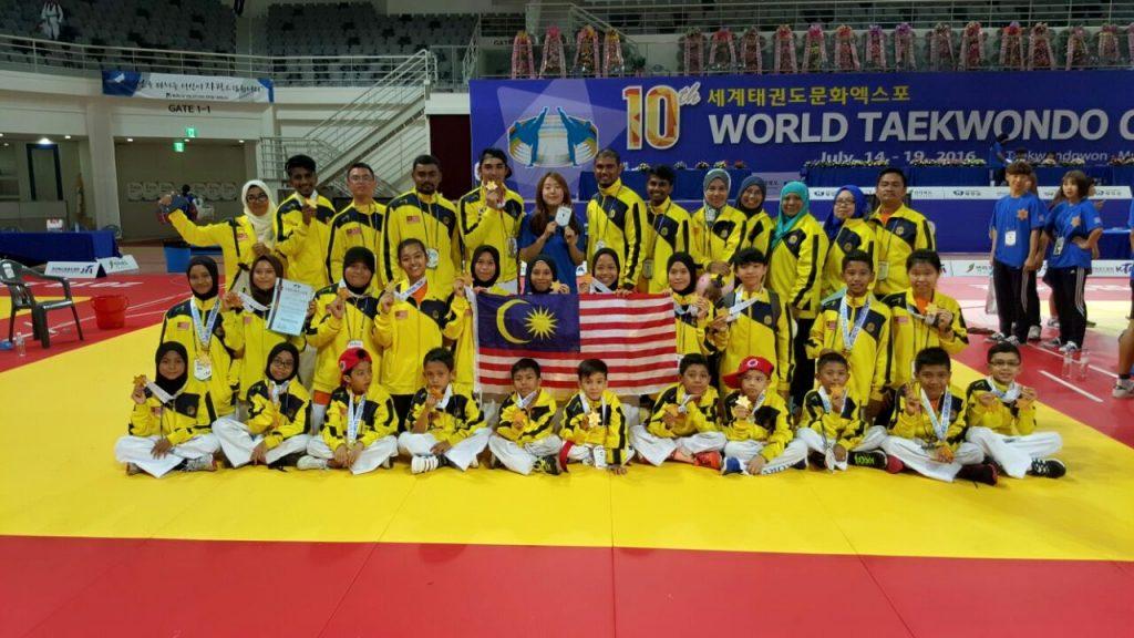 10th World Taekwondo Expo 2016 Korea | Tahniah Pasukan Malaysia!